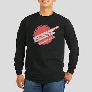 keytar black Long Sleeve T-Shirt