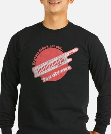 keytar black Long Sleeve T-Shirt