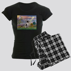 Cloud Angel & Toy Fox Terrier Pajamas