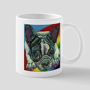 Rainbow Frenchie Mugs