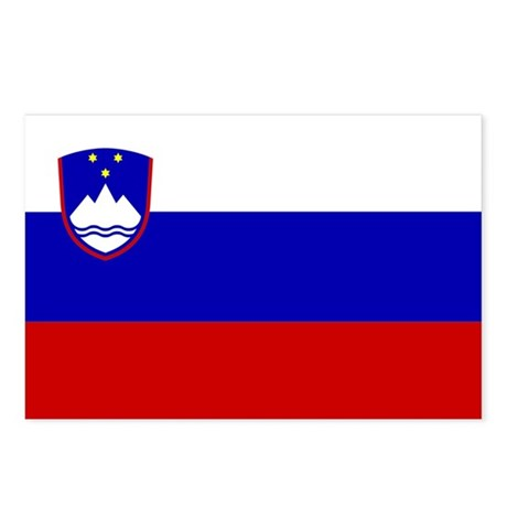 Slovenia Postcards (Package of 8)