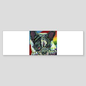 Rainbow Frenchie Bumper Sticker