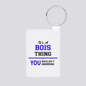 It's BOIS thing, you wouldn't understand Keychains