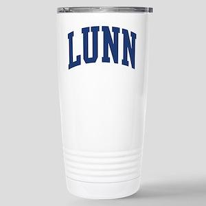 LUNN design (blue) Mugs