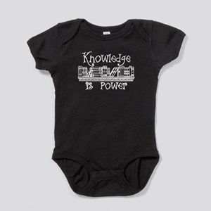 Book Lover Gifts Knowledge is Power Body Suit