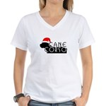 Cane Corso Holiday Women's V-Neck T-Shirt