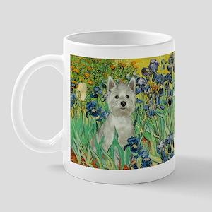 Irises / Westie Mug