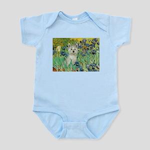 Irises / Westie Infant Bodysuit