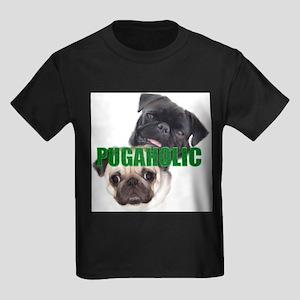 Pugaholics - Large Ash Grey T-Shirt