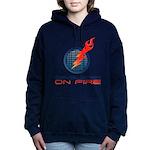 Developer On Fire Women's Hooded Sweatshirt