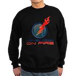 Developer On Fire Sweatshirt