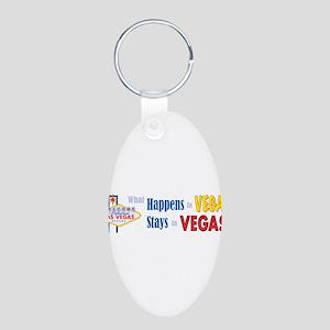 Vegas_bumper sticker Keychains