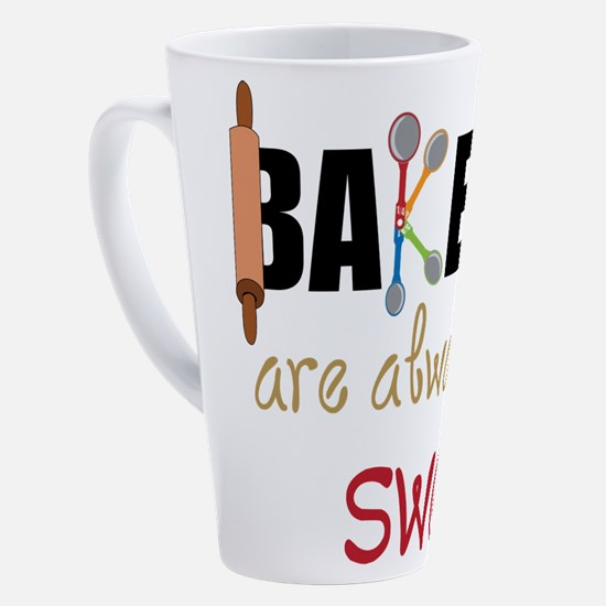 Cute Spoons 17 oz Latte Mug