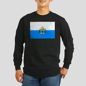 San Marino Long Sleeve Dark T-Shirt