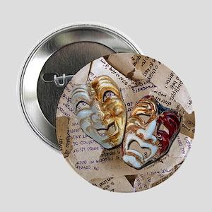 Drama Masks Button