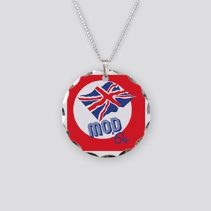 Mod 64 Necklace Circle Charm