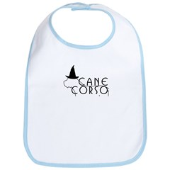 Haunted Cane Corso Bib