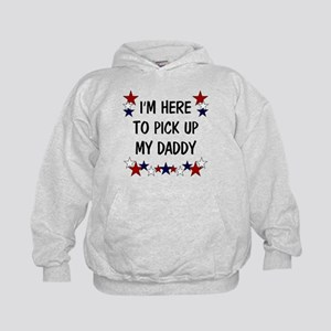 I'm here to pick up my Daddy Kids Hoodie