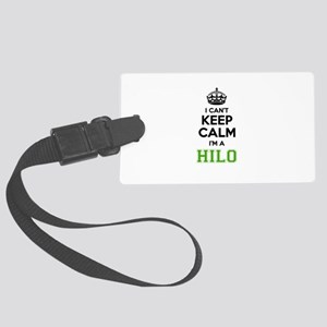 HILO I cant keeep calm Large Luggage Tag