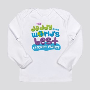 Cricket Player Gifts fo Long Sleeve Infant T-Shirt