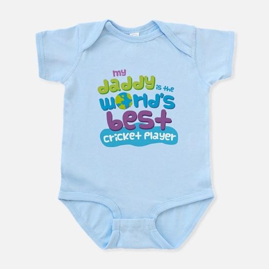 Cricket Player Gifts for Kids Infant Bodysuit