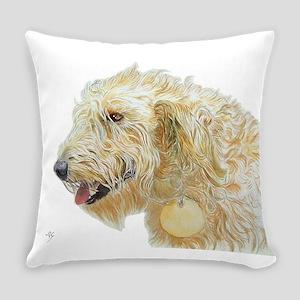 Cream Labradoodle 2 Everyday Pillow