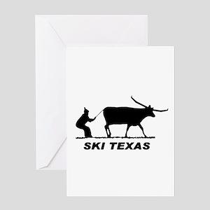 Funny texas greeting cards cafepress ski texas greeting card m4hsunfo