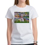 Lilies / M Schnauzer Women's T-Shirt