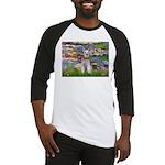Lilies / M Schnauzer Baseball Jersey