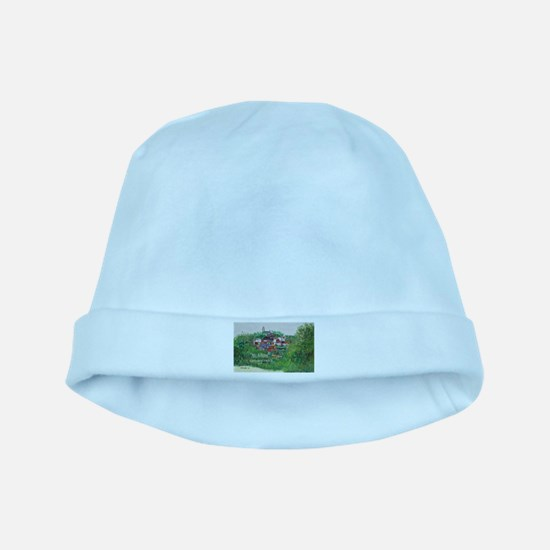 Mt. Adams - Cincinnati, Ohio, trendy art baby hat