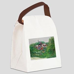 Mt. Adams - Cincinnati, Ohio, tre Canvas Lunch Bag