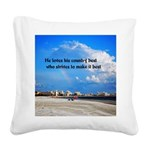 Love of Country Square Canvas Pillow