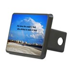 Love of Country Rectangular Hitch Cover