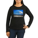 Love of Country Women's Long Sleeve Dark T-Shirt