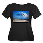 Love of Women's Plus Size Scoop Neck Dark T-Shirt
