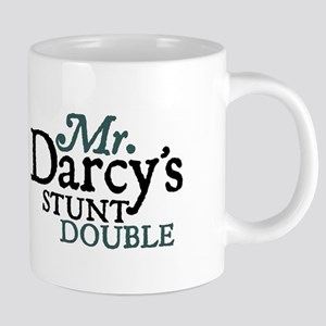 Jane Austen Darcy Stunt Double Large Mugs
