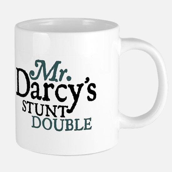 Jane Austen Darcy Stunt Double Large Mugs