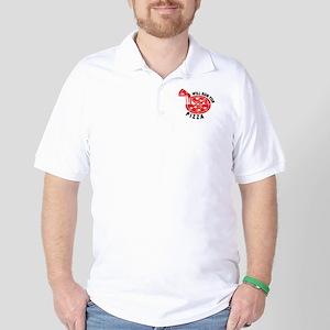 Will Run For Pizza Golf Shirt