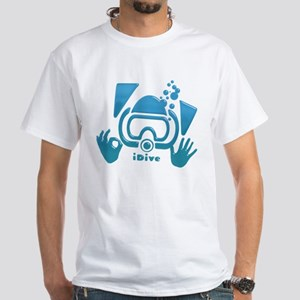 idive ok blue glass T-Shirt