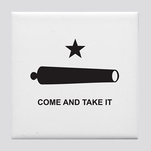 Come And Take It! Tile Coaster