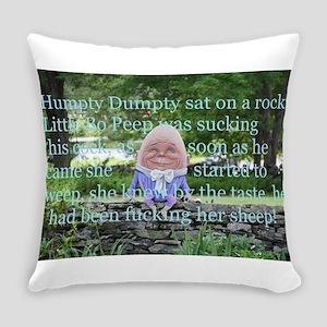 Adult Humor Nursery Rhyme Everyday Pillow