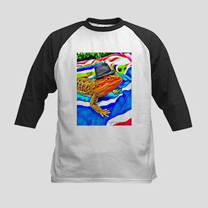 Fedora Beardie Art by foozma73 Baseball Jersey