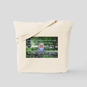 Adult Humor Nursery Rhyme Tote Bag