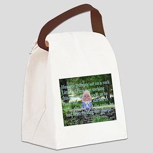 Adult Humor Nursery Rhyme Canvas Lunch Bag