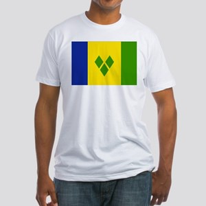 Saint Vincent and Grenadines Fitted T-Shirt