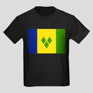 Saint Vincent and Grenadines Kids Dark T-Shirt