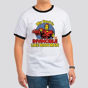 My Dad is Invincible Like Iron Man Ringer T