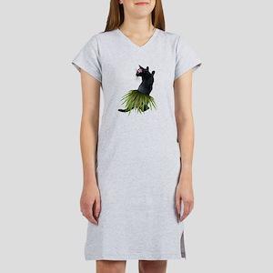 Hula Cat Women's Nightshirt