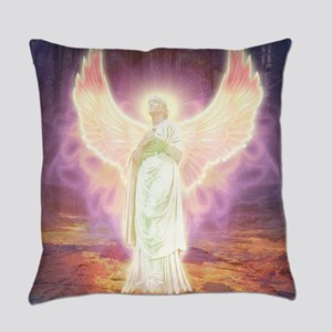 Angel Of God Everyday Pillow