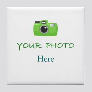 Personalized - Your Photo * Tile Coaster